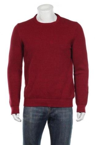 Мъжки пуловер Izod, Размер M, Цвят Червен, 90% памук, 10% полиамид, Цена 22,42лв.