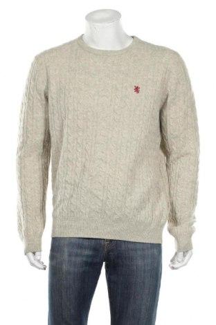 Męski sweter Redford, Rozmiar L, Kolor ecru, 80% wełna, 20% poliamid, Cena 84,00zł