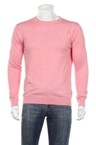 Męski sweter Scotch & Soda, Rozmiar M, Kolor Różowy, 95% bawełna, 5% kaszmir, Cena 297,50zł