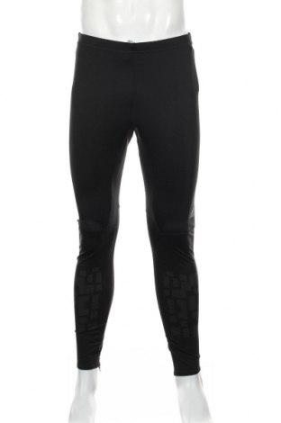 Męskie legginsy sportowe Adidas, Rozmiar XL, Kolor Czarny, 84% poliester, 16% elastyna, Cena 122,38zł