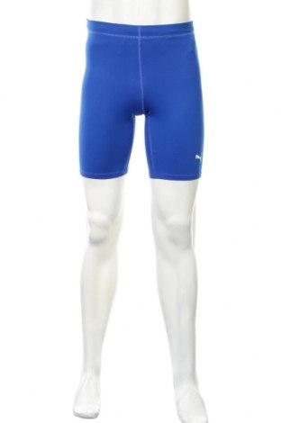 Męskie legginsy sportowe PUMA, Rozmiar M, Kolor Niebieski, 92% poliester, 8% elastyna, Cena 81,13zł