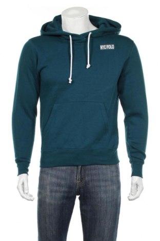 Męska bluza, Rozmiar L, Kolor Niebieski, 80% bawełna, 20% poliester, Cena 64,75zł