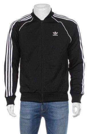 Męska bluza sportowa Adidas Originals, Rozmiar M, Kolor Czarny, 70% poliester, 30% bawełna, Cena 196,00zł