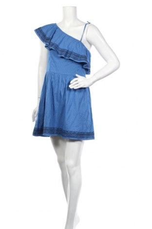Šaty  Abercrombie & Fitch, Veľkosť M, Farba Modrá, 100% bavlna, Cena  18,54€