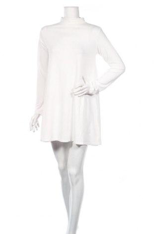 Рокля Beautiful, Размер L, Цвят Бял, 95% полиестер, 5% еластан, Цена 11,38лв.