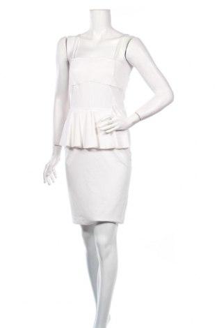 Рокля Pinko, Размер S, Цвят Бял, 70% вискоза, 25% полиамид, 5% еластан, Цена 57,41лв.
