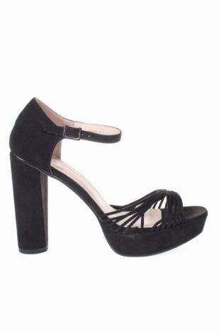 Sandale Anna Field, Mărime 40, Culoare Negru, Textil, Preț 131,37 Lei