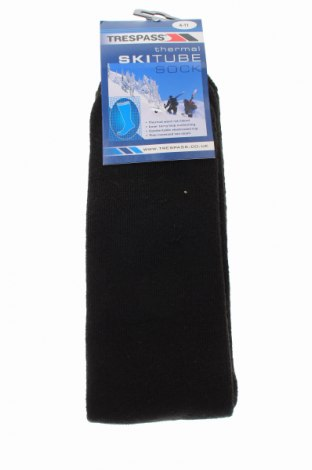 Спортни чорапи Trespass, Размер S, Цвят Черен, 45% вълна, 45% акрил, 10% полиамид, Цена 34,00лв.