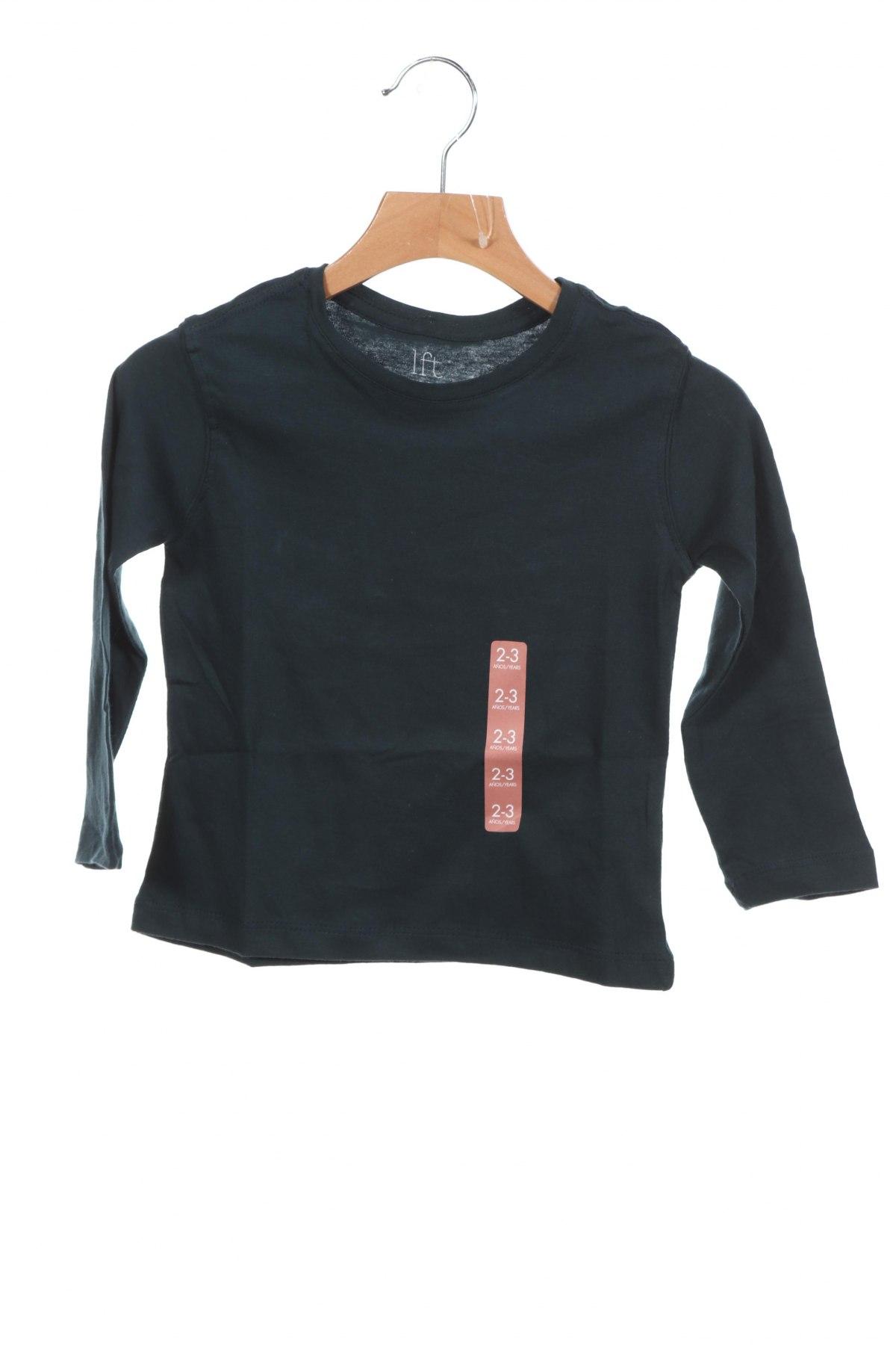 Детска блуза Lft, Размер 2-3y/ 98-104 см, Цвят Зелен, 100% памук, Цена 16,32лв.