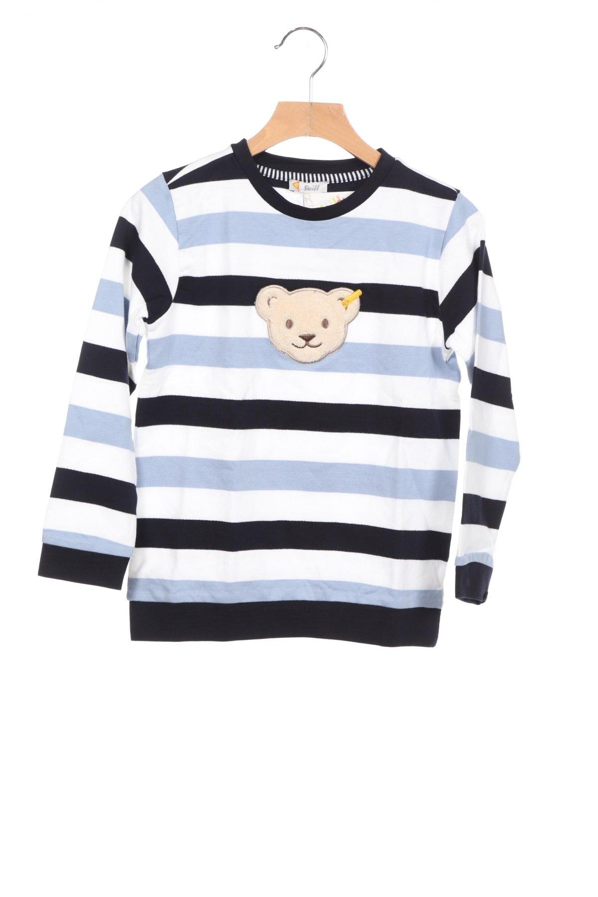 Детска блуза Steiff, Размер 5-6y/ 116-122 см, Цвят Многоцветен, Памук, Цена 23,10лв.