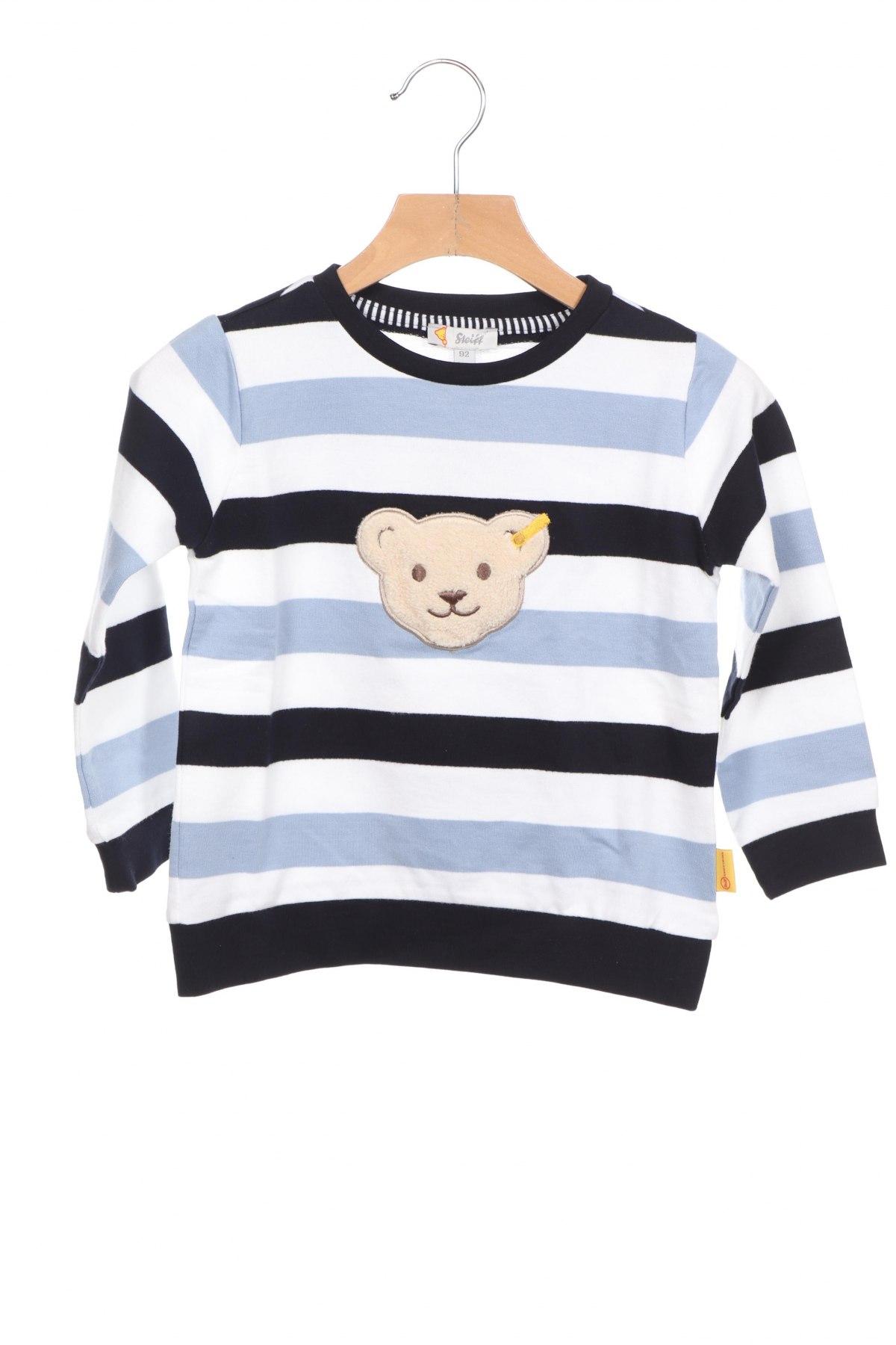 Детска блуза Steiff, Размер 18-24m/ 86-98 см, Цвят Многоцветен, Памук, Цена 23,10лв.