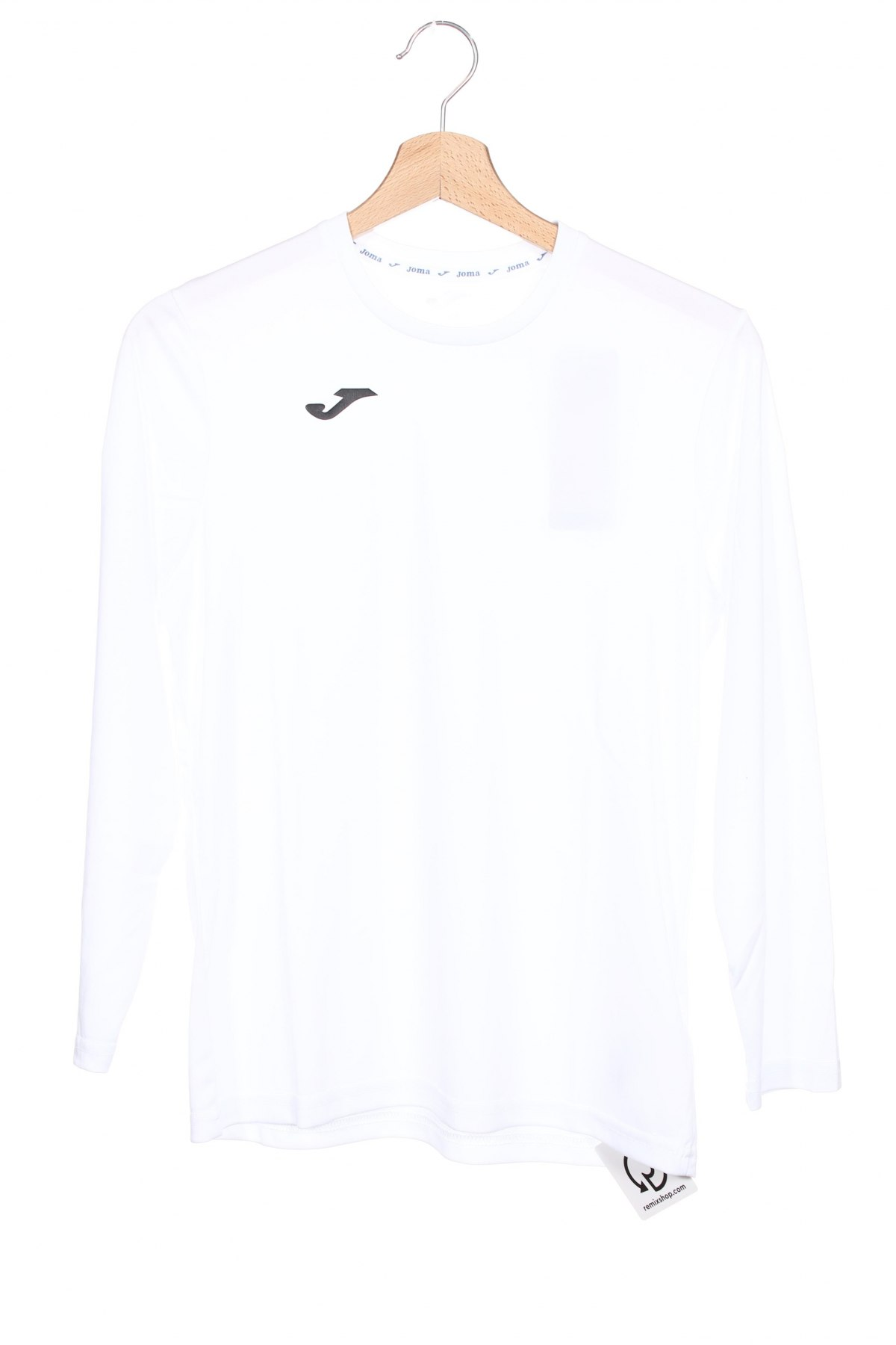 Детска спортна блуза Joma, Размер 12-13y/ 158-164 см, Цвят Бял, Полиестер, Цена 27,00лв.