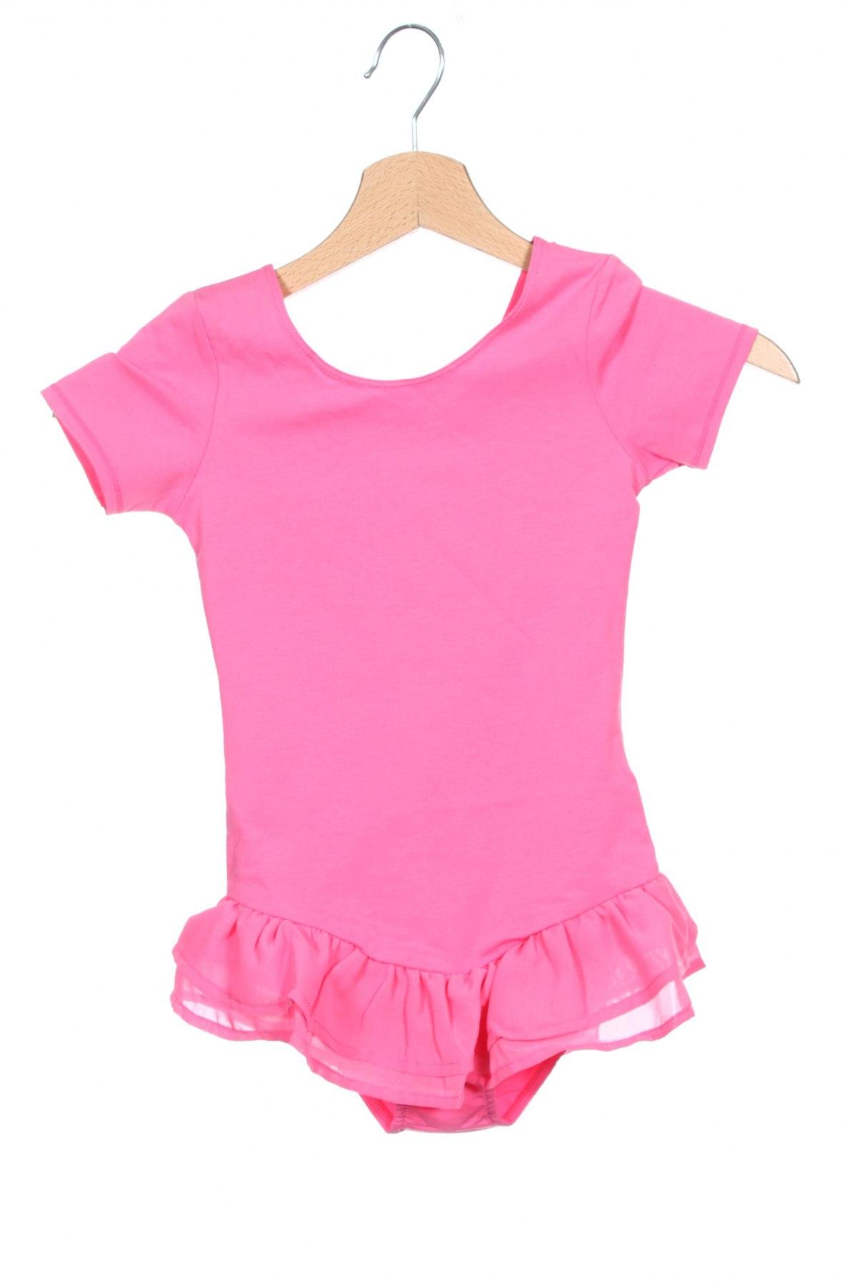 Детско боди Avento, Размер 7-8y/ 128-134 см, Цвят Розов, 91% памук, 9% еластан, Цена 19,50лв.