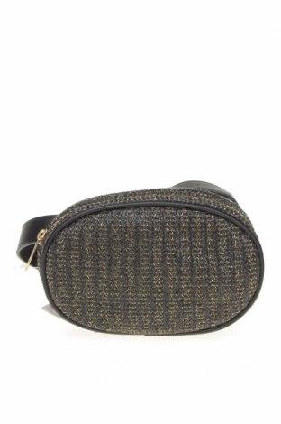 Чанта за кръст Lefties, Цвят Черен, Текстил, еко кожа, Цена 20,88лв.
