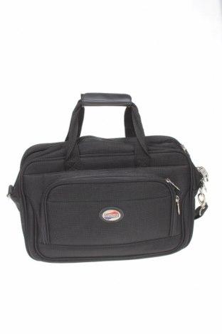 Geantă de laptop American Tourister, Culoare Negru, Textil, Preț 101,30 Lei