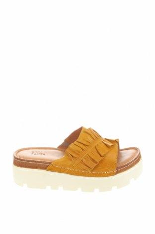 Pantofle Bullboxer, Velikost 40, Barva Žlutá, Pravá kůže, Cena  631,00Kč