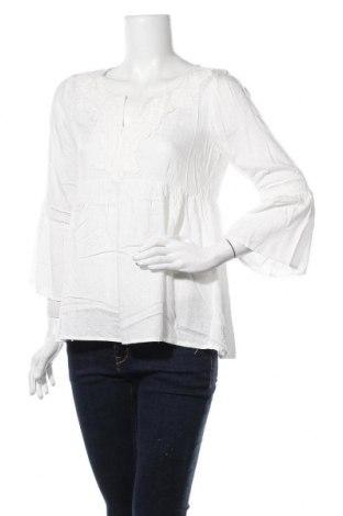 Дамска блуза Anany, Размер S, Цвят Бял, Вискоза, Цена 17,64лв.