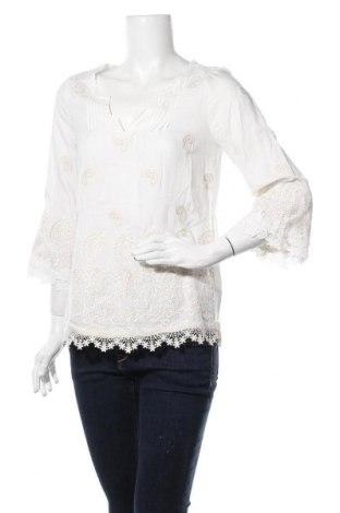 Дамска блуза Anany, Размер S, Цвят Бял, Памук, Цена 21,32лв.