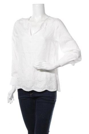 Дамска блуза Anany, Размер S, Цвят Бял, Памук, Цена 30,16лв.