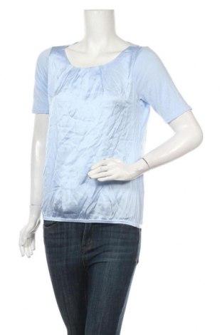Bluză de femei Comma,, Mărime S, Culoare Albastru, 55% viscoză, 45% poliester, Preț 20,43 Lei