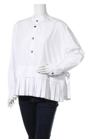 Дамска блуза Diesel Black Gold, Размер L, Цвят Бял, 65% полиестер, 35% памук, Цена 107,60лв.