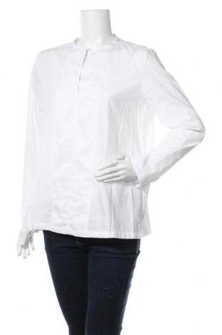 Bluză de femei Emporio Armani, Mărime L, Culoare Alb, Bumbac, Preț 380,26 Lei