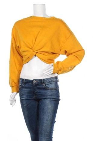 Bluză de femei H&M Divided, Mărime S, Culoare Galben, 60% bumbac, 40% poliester, Preț 20,89 Lei