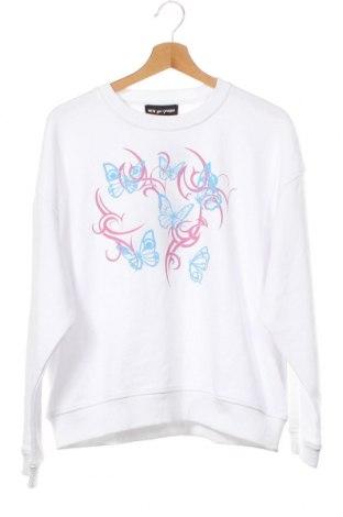 Дамска блуза NEW girl ORDER, Размер XS, Цвят Бял, 69% памук, 31% полиестер, Цена 33,00лв.