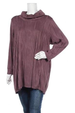 Дамска блуза Pronto, Размер M, Цвят Лилав, 92% полиестер, 8% еластан, Цена 12,85лв.