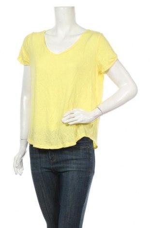 Дамска блуза Q/S by S.Oliver, Размер M, Цвят Жълт, Лен, модал, Цена 15,70лв.