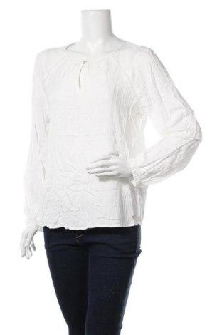 Bluză de femei S.Oliver, Mărime L, Culoare Alb, Viscoză, Preț 30,79 Lei