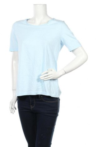 Дамска блуза S.Oliver, Размер L, Цвят Син, Памук, Цена 18,00лв.