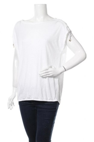 Дамска блуза S.Oliver, Размер M, Цвят Бял, 50% памук, 50% модал, Цена 11,32лв.