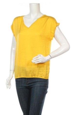 Дамска блуза S.Oliver, Размер M, Цвят Жълт, Полиестер, Цена 15,80лв.