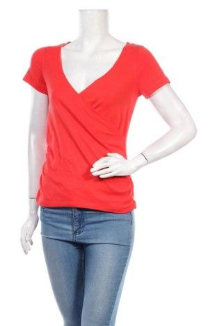 Дамска блуза Tom Tailor, Размер S, Цвят Червен, 100% памук, Цена 23,25лв.