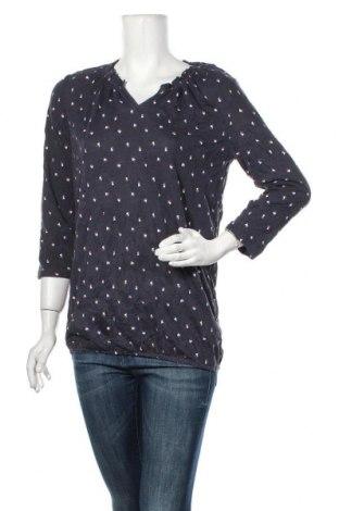 Дамска блуза Tom Tailor, Размер M, Цвят Син, 65% полиестер, 35% вискоза, Цена 10,08лв.