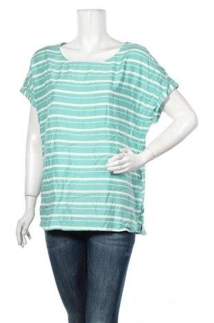 Γυναικεία μπλούζα Tom Tailor, Μέγεθος L, Χρώμα Πράσινο, Βισκόζη, Τιμή 4,95€
