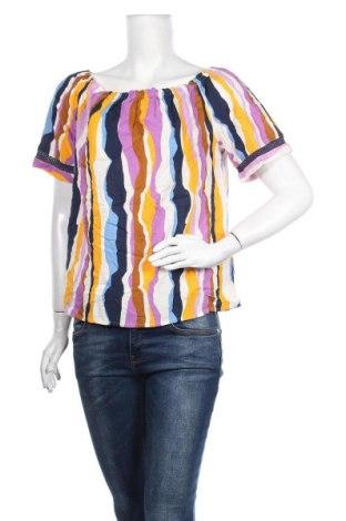 Γυναικεία μπλούζα Tom Tailor, Μέγεθος S, Χρώμα Πολύχρωμο, 50% βαμβάκι, 50% βισκόζη, Τιμή 4,80€
