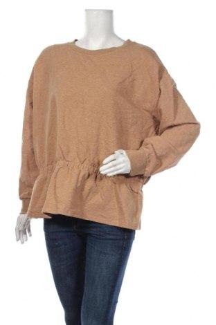 Дамска блуза Vrs Woman, Размер XXL, Цвят Кафяв, 95% памук, 5% еластан, Цена 13,23лв.