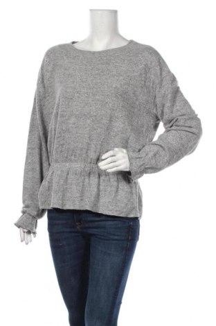 Дамска блуза Vrs Woman, Размер S, Цвят Сив, 73% полиестер, 24% вискоза, 3% еластан, Цена 12,97лв.