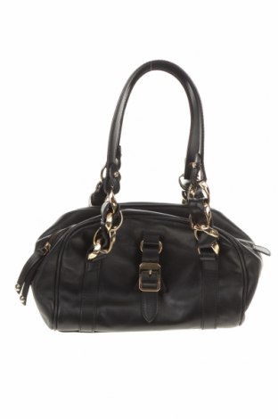 Γυναικεία τσάντα Max Mara, Χρώμα Μαύρο, Γνήσιο δέρμα, Τιμή 175,36€