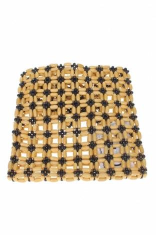Geantă de femei Oysho, Culoare Bej, Alte materiale, Preț 59,50 Lei