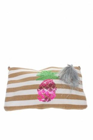 Дамска чанта S.Oliver, Цвят Бял, Текстил, Цена 14,75лв.