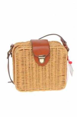 Γυναικεία τσάντα S.Oliver, Χρώμα  Μπέζ, Άλλα υλικά, Τιμή 15,31€