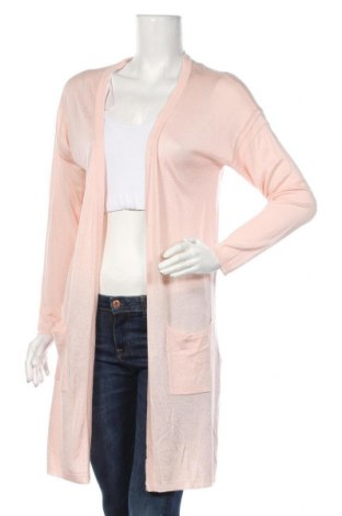 Cardigan de damă Kaffe, Mărime M, Culoare Roz, 50% viscoză, 50%acril, Preț 35,46 Lei
