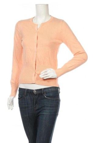 Дамска жилетка Part Two, Размер M, Цвят Оранжев, 40% памук, 30% вискоза, 20% полиамид, 10% ангора, Цена 5,94лв.