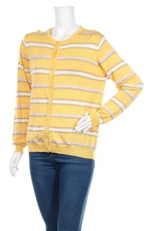 Дамска жилетка Vrs Woman, Размер XL, Цвят Жълт, Цена 19,11лв.