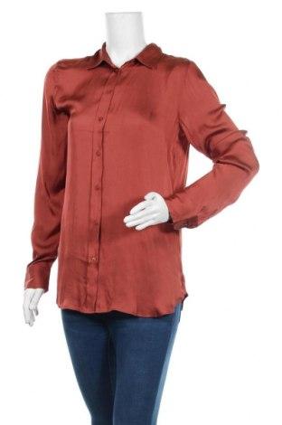 Γυναικείο πουκάμισο Banana Republic, Μέγεθος M, Χρώμα Κόκκινο, Πολυεστέρας, Τιμή 12,41€