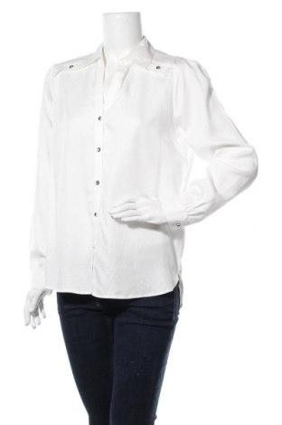 Дамска риза Comma,, Размер M, Цвят Бял, Лиосел, Цена 22,25лв.