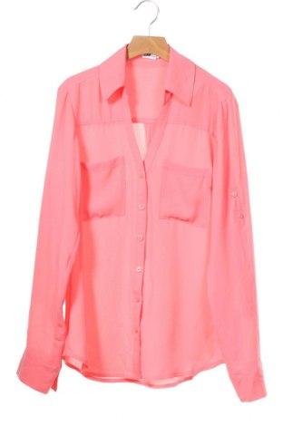 Дамска риза Express, Размер XS, Цвят Розов, Полиестер, Цена 18,90лв.